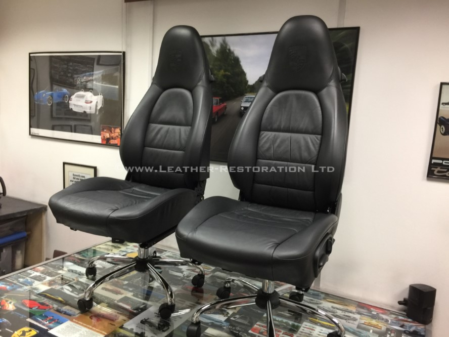 Leather restoration porsche 911 996 luxury leather Office furniture 911