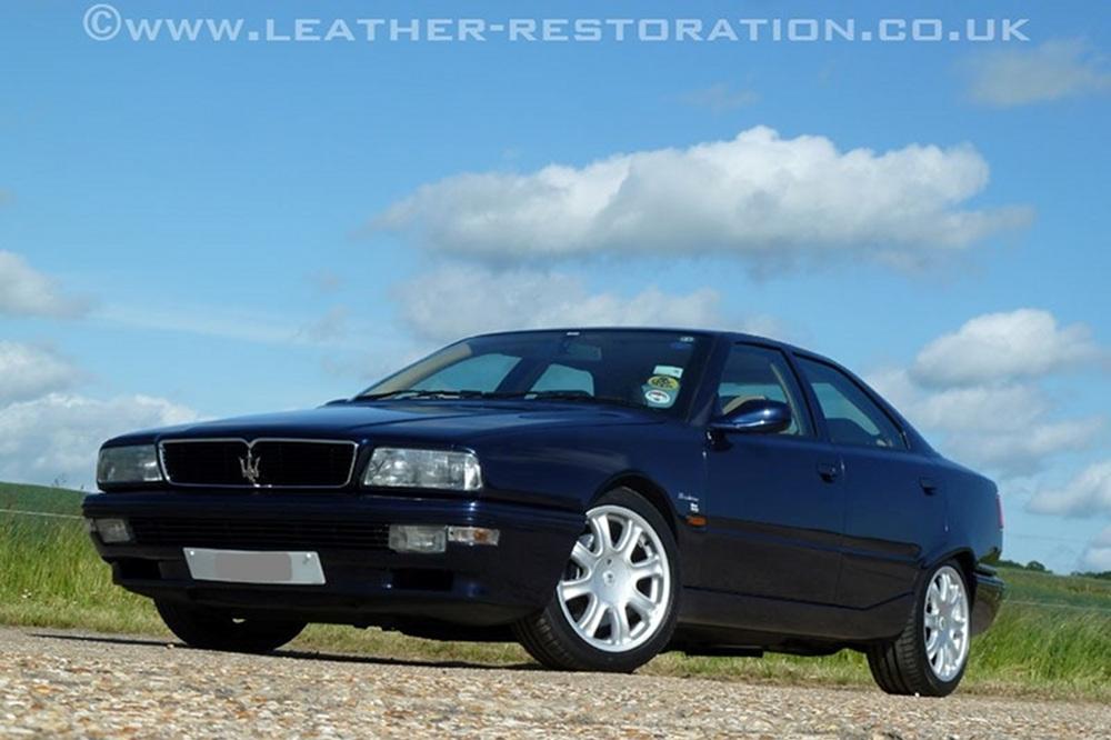 Leather Restoration - Maserati Quattroporte V8 Evoluzione ...